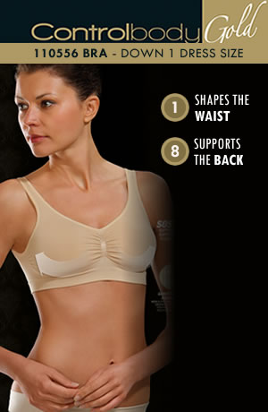 Control Body - Comfort Bra With Wide Straps - Medium Support