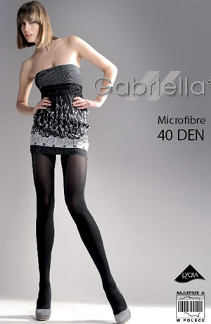 Gabriella - Microfibre 40 Tights